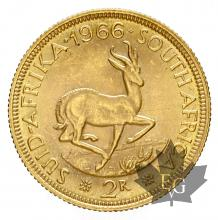 Afrique du Sud - 2 Rands or gold