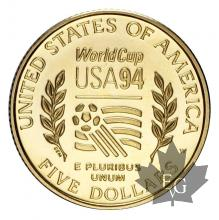 USA-5 dollars 1994 gold