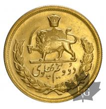 Iran-2.5 Pahlavi-gold-or