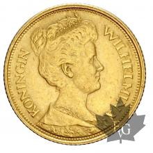 Pays Bas - 5 Gulden gold or