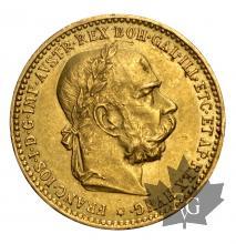 Autriche-10 Couronnes-1896-1911-or-gold