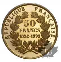 France-1993-50 Francs or- proof