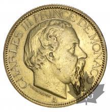 Monaco-100 Francs or-Charles III-TTB