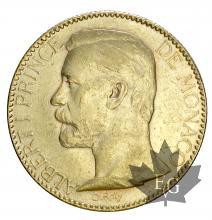 Monaco-100 Francs or-Albert I-TTB
