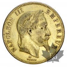 France-100 francs or-Tête laurée-TTB