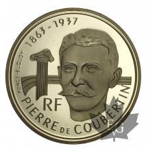 France-500 Francs-1991-Coubertin-Albertville 92