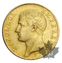 France-40 Francs AN 13-tête nue- Napoléon