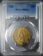 USA-10 DOLLARS LIBERTY HEAD-FDC-PCGS MS61