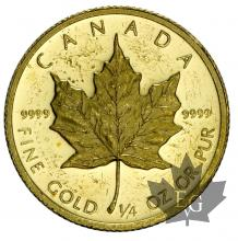 Canada- 10 Dollars or gold - 1/4 once