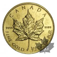 Canada-1/2 oz gold- or