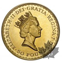 Royaume Uni - 1/2 Oz gold- 1/2 once or