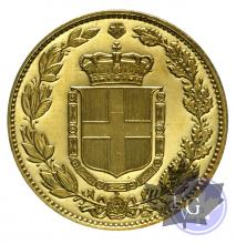 Italie-Médaille en or-Umberto II-Proof