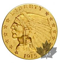 USA- 2 1/2 Dollars or indian head gold