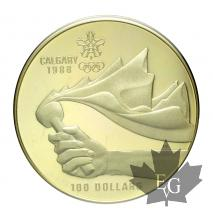 Canada- 100 Dollars or gold - Canadian Olympic