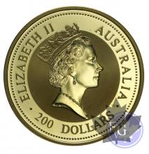Australie-200 dollars-2 onces- 2 oz gold-mixed years