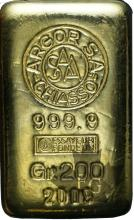 Suisse - 200 grams or - 200 gr gold ingot