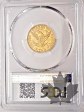 USA- 5 dollars or gold liberty head - AU58