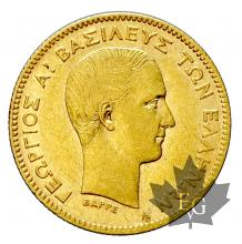 Grèce-10 Drachmes-or-gold-1876