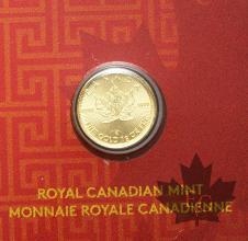Canada- 1 gr or- 1 gr gold