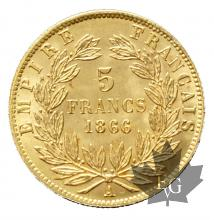 France - 5 francs or gold-FDC-mixed years