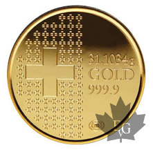 Suisse-1 once or-1 oz gold-2010
