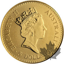 Australie - 1/20 oz -5 dollar gold-mixed years