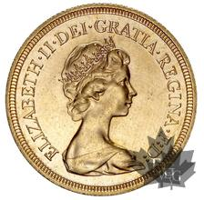 Royaume Uni  - souverain-sovereign-sterlina or gold - Elizabeth