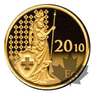 Suisse-5.8 grams gold-2010- (20 gold francs-fine weight)