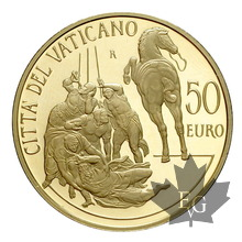 Vatican-2012-50 euro gold-or-2500 ex.