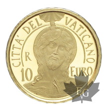 Vatican-2017-10 euro gold-or-3000 ex.