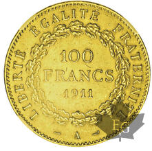 France-100 francs Génie-Dates mixtes-MS61