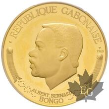 Gabon 5000 Francs-1969-PROOF