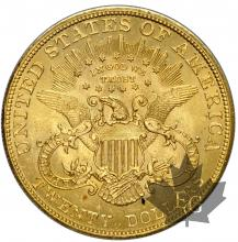 USA- 20 dollars or gold - Liberty Head