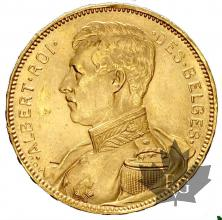 Belgique- 20 Francs or gold - Albert Roi - Uniforme