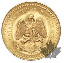 Mexique - 2,5 Pesos or gold