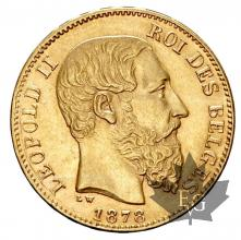 Belgique- 20 Francs or gold - Leopold II - dates mixtes