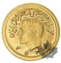 Iran - 1/4 Pahlavi or gold