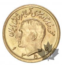Iran - 1/2 Pahlavi or gold
