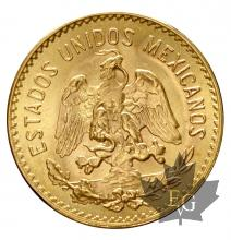 Mexique - 5 Pesos or gold