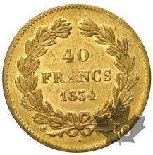 France - 40 francs or gold  Louis Philippe