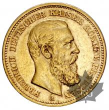 Allemagne-20 Marks-Friedrich (III)-or-gold