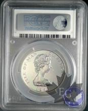 ISLE OF MAN-1983-NOBLE-PCGS MS66-KM#110