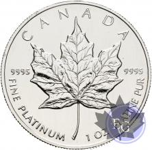 CANADA-1988-100 DOLLARS-1 Once-1 OZ-PROOF-PLATINE