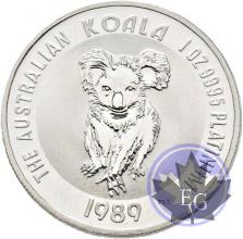 AUSTRALIA-1 OZ platinum-Mixed years