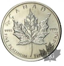 CANADA-1/10 OZ-1/10 once-platin