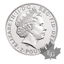 Royaume Uni- 1 once argent- 1 oz silver