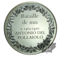 France-Médaille en argent commemoratives PROOF