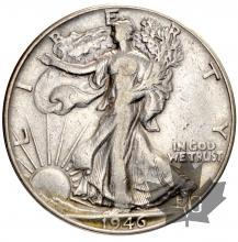 USA-Half Dollar silver-Walking Liberty