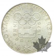 Autriche-100 Shilling-1974-1979-typologies mixtes