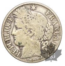 France - 1 franc argent- Cérès